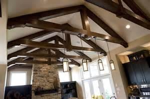 lighting for beamed ceilings beamed ceiling kitchen ideas