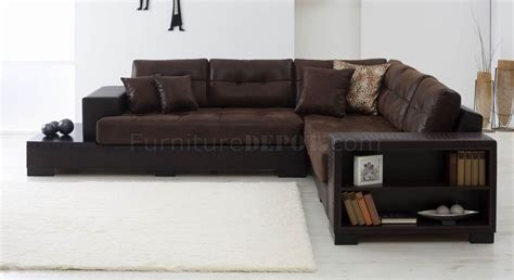 vinyl sectional sofa brown fabric vinyl modern sectional sofa