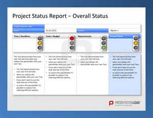 use the project management powerpoint templates to report