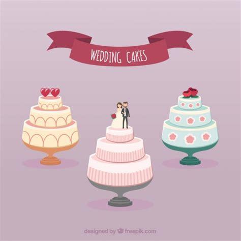 Wedding Cake Vector collection of wedding cakes vector free
