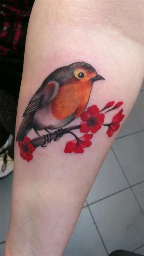 small robin tattoo top 15 small size watercolor tattoos daily
