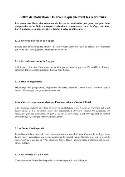 Lettre De Motivation Pour Cabinet De Recrutement by Lettre De Motivation Cabinet De Recrutement Wagsandbags
