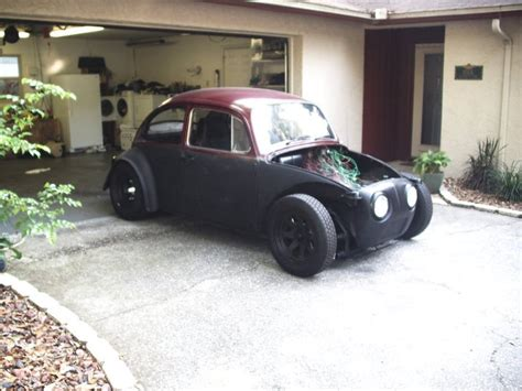 baja bug lowered thesamba com gallery 1966 baja turned rat rod