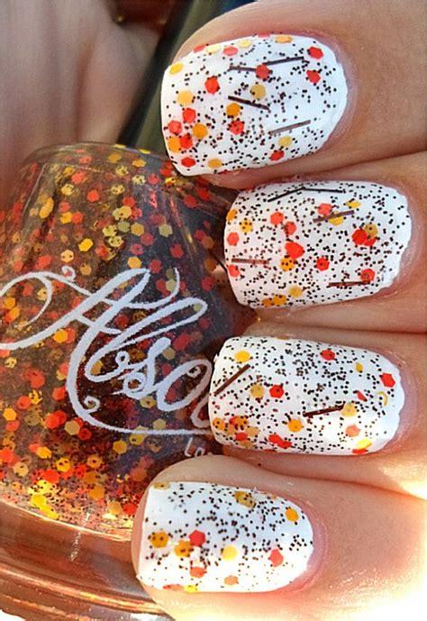 manicure  fall nail designs pretty designs