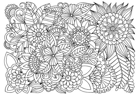abstract sunflower coloring page flowers coloring pages got coloring pages
