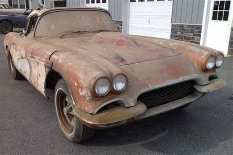 1962 chevy corvette for sale 18 best images about barn finds on pontiac gto