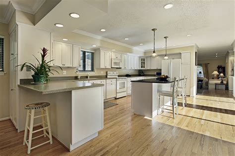 Can I Install A Wooden Floor In My Kitchen The Wood Floo Wood Flooring In Kitchen