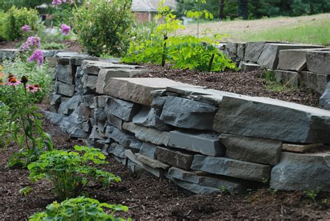 Dry Laid Patio Retaining Walls In Chester County Naturescapes
