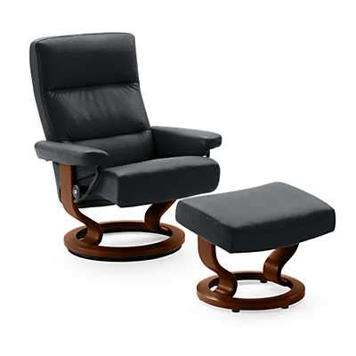 stressless atlantic recliner stressless atlantic chair and ottoman smart furniture