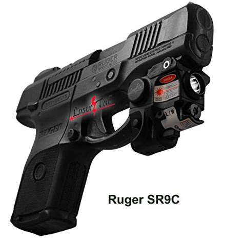 springfield xdm laser light combo lasertac rechargeable subcompact green laser sight light