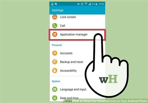 how to delete voicemail on android how to reset the voicemail icon on your android phone 14 steps