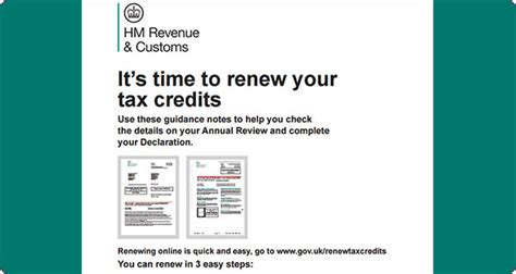 Working Tax Credit Award Letter Don T Forget To Renew Your Tax Credits News Turn2us