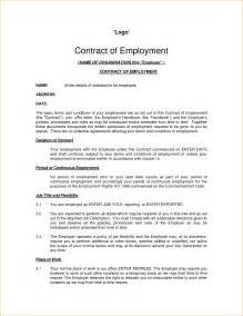 contract work agreement template 8 employee contract sle timeline template