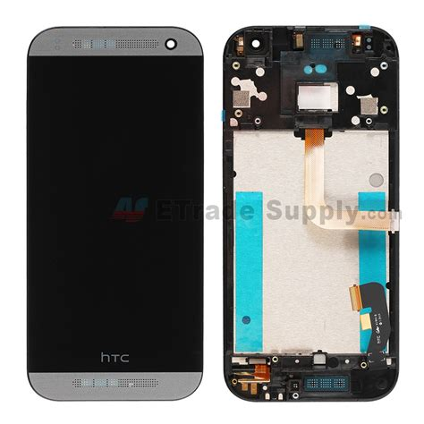 Lcd Mini 2 htc one mini 2 lcd screen and digitizer assembly with frame etrade supply