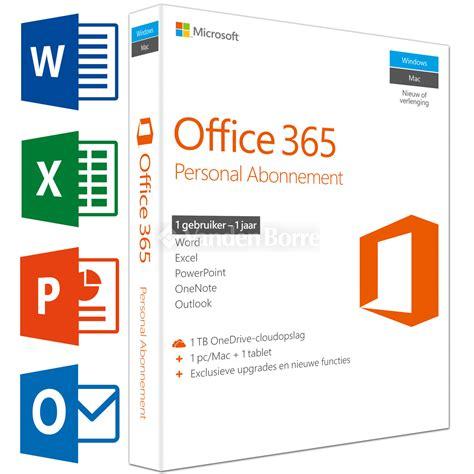Microsoft Office 365 Personal Office365 microsoft office 365 personal nl 1y bij vanden borre gemakkelijk vergelijken en aankopen