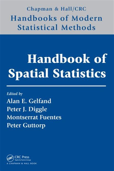 crc handbook of tables for order statistics from inverse gaussian distributions with applications books handbook of spatial statistics crc press book