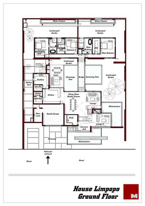 House Aboo Modern Luxury Residence South Africa Floor Plans For Sale In South Africa
