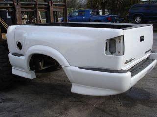 s10 stepside bed xtreme step side sport bed chevy s10 truck sonoma gate bumper w ground effects on