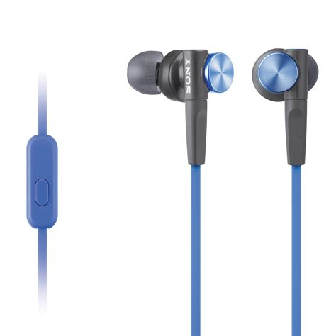 Earphone Bass 10mm Driver 1 sony mdr xb50ap bass earbud headset blue mdrxb50ap l b h
