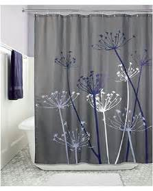 bargains on interdesign thistle fabric shower curtain 72