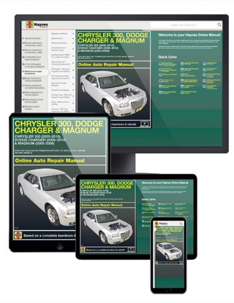 online auto repair manual 2005 chrysler 300 electronic throttle control chrysler 300 dodge charger magnum online service manual 2005 2010