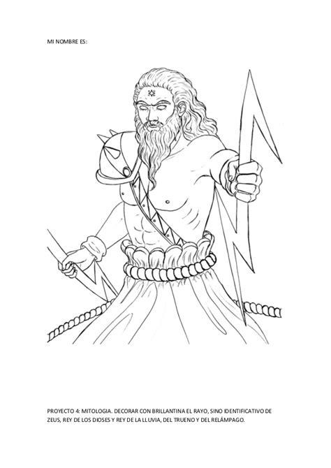 imagenes del dios zeus para imprimir proyecto mitolog 237 a para ni 241 s