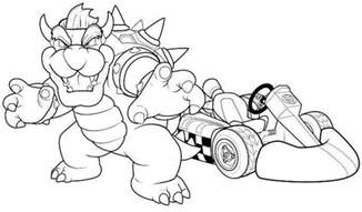 mario kart coloring pages the world s catalog of ideas