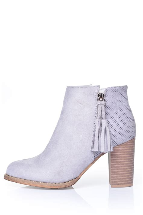 light grey suede boots sole city eris ankle boot in light grey suede iclothing