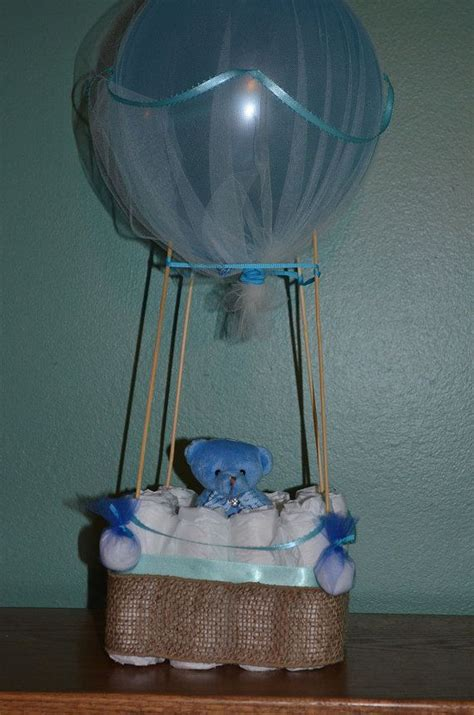 hot air balloon bathroom hot air balloon diaper cake centerpiece sip and see baby