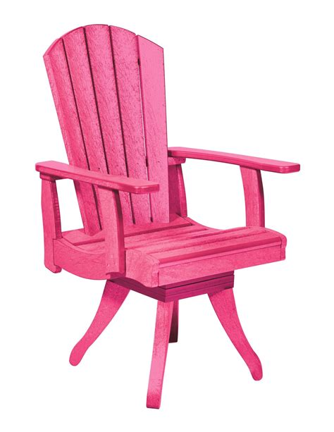 Fuschia Armchair by Generations Fuschia Swivel Dining Arm Chair From Cr Plastic C13 10 Coleman Furniture
