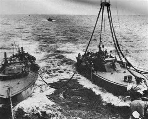 pt boat lines hyperwar at close quarters part ii