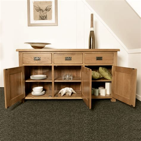 Furniture Price Match by Solid Oak Large Sideboard Dining Living Room