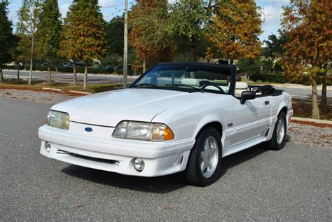 Ford Mustang 5 0 For Sale by 1991 Ford Mustang 5 0 Convertible For Sale