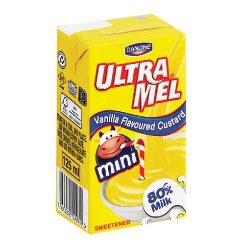 Ultra Mimi Vanilla 125ml danone ultramel custard vanilla 24 x 125ml lowest