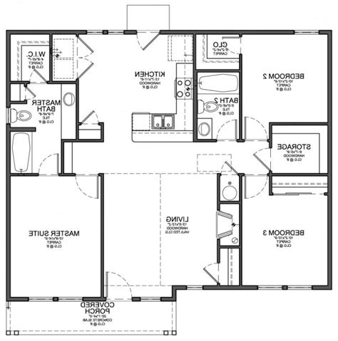 simple home plans simple house floor plans with measurements free designs