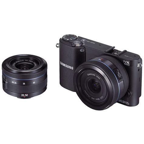 Kamera Mirrorless Samsung Nx1000 samsung nx1000 mirrorless wi fi digital ev nx1000bdbus