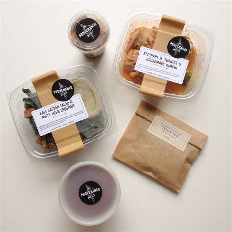 Detox In A Box Food Delivery by Provenance Meals Organic Meal Delivery Vegan Gluten