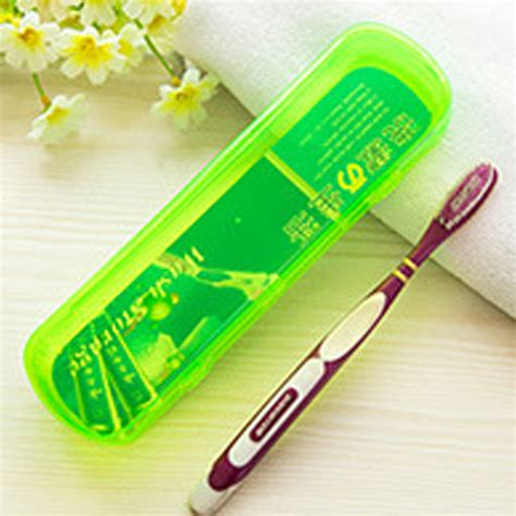 toothpaste plastic portable plastic travel toothbrush toothpaste storage box