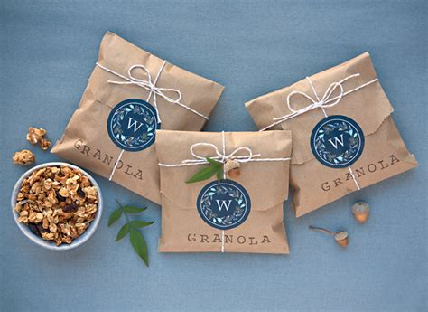 Wedding Favors Packaging by Diy Granola Wedding Favors Wedding Ideas From Evermine
