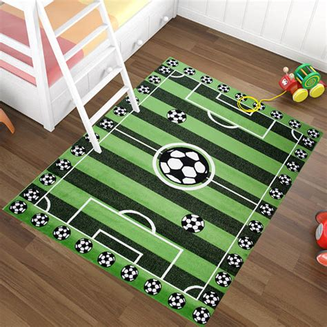 football rugs for rooms rug football carpet boy playroom childrens bedroom lots of 5 sizes ebay