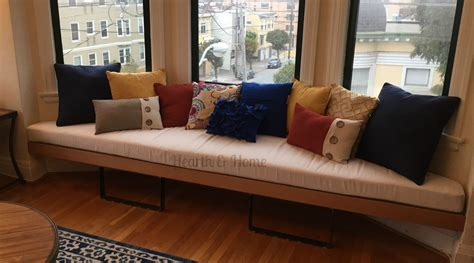 Banquette Seat Cushions by Trapezoid Cushion Custom Cushion Bay Window Seat Cushion