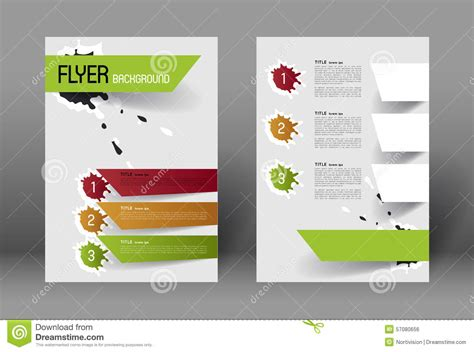 modern layout modern flyer design template stock vector image 57080656