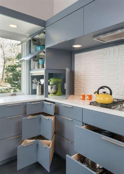 stylish  atmospheric mid century modern kitchen