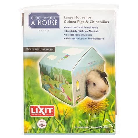 Small Home Pets Lixit Lixit Deco House For Small Pets Small Pet Hideaways