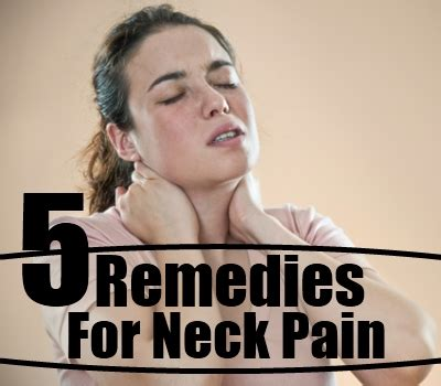 home remedies for neck treatments cure