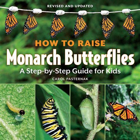 raise monarch butterflies book step  step guide