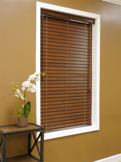 Bamboo Window Treatments American Blinds 2 Quot Bamboo Wood Blinds Tropical