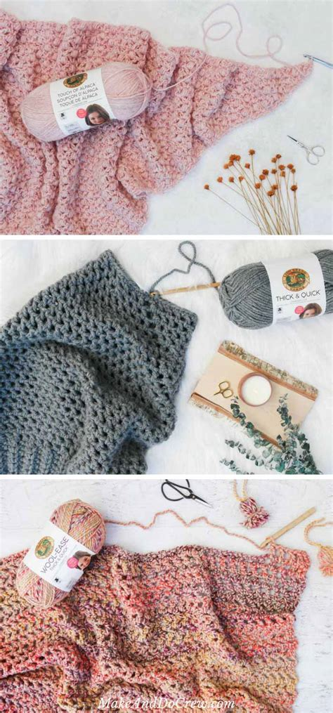 lionbrand pattern finder lion brand yarn free patterns make do crew