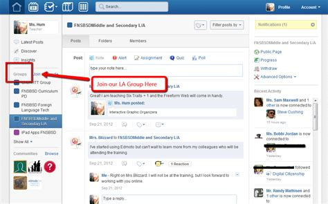 edmodo how to join a group technology through time edmodo for the district