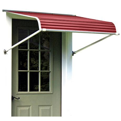 awning products nuimage series 1100 aluminum door canopy aluminum awnings nuimage awnings